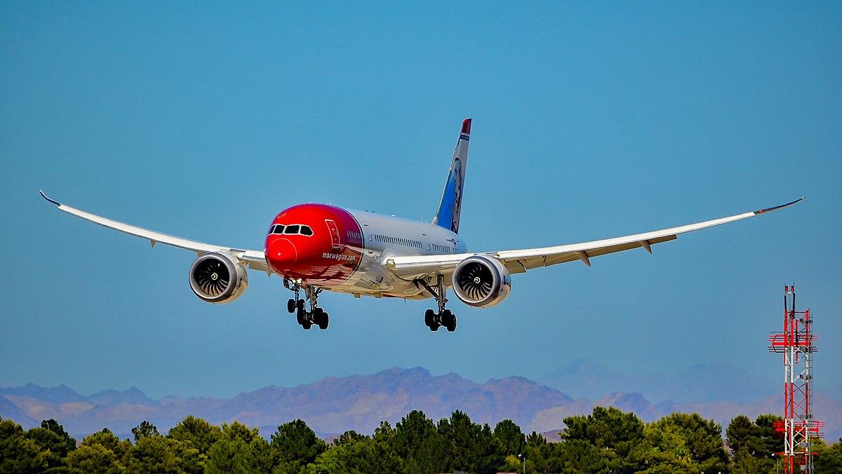 Boeing 787 Dreamliner Wing Flex