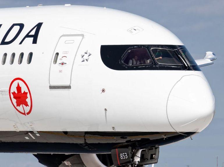 air canada dreamliner boeing 787